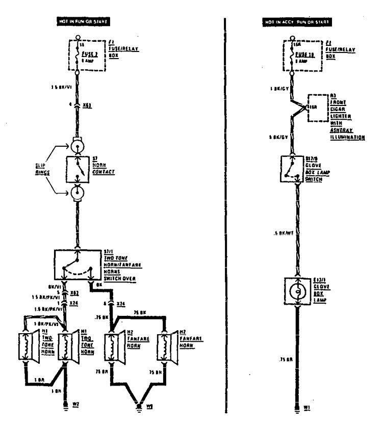 mercedes-benz 300se  1990 - 1991