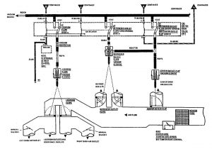 Mercedes-Benz 300SE - wiring diagram - HVAC Controls (part 1)