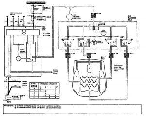 Mercedes-Benz 300SE - wiring diagram - power lumbar