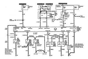 Mercedes-Benz 300SE - wiring diagram - security/anti-theft (part 1)