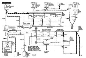 Mercedes-Benz 300SE - wiring diagram - speed controls