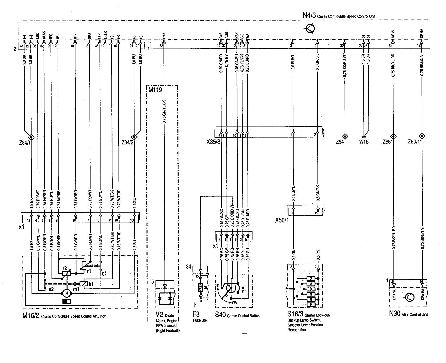 Mercedes C280 Engine Diagram Wiring Library Benz Se Diagrams Speed Controls Carknowledge Info E