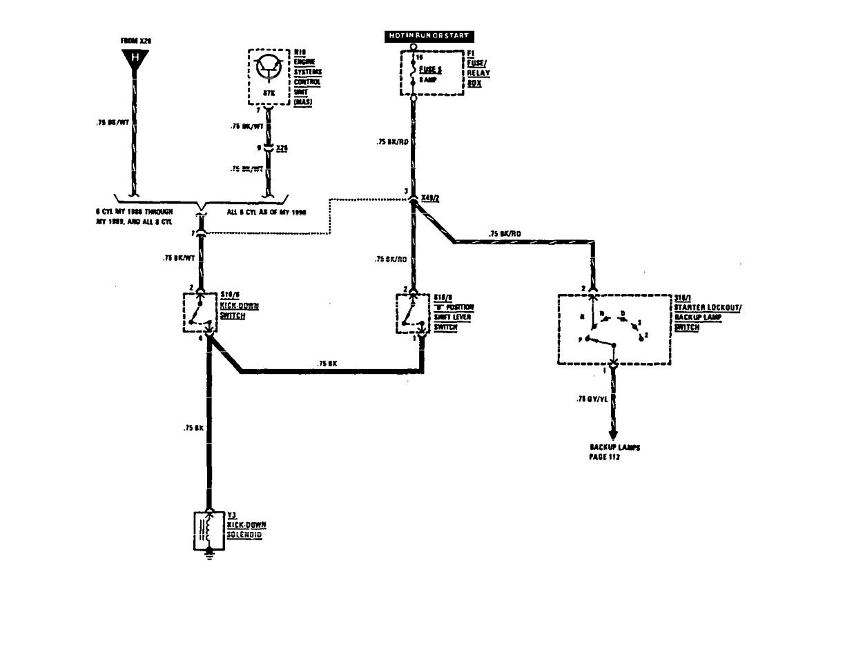 Mercedes Benz Transmission Diagrams : Mercedes benz sel wiring diagrams