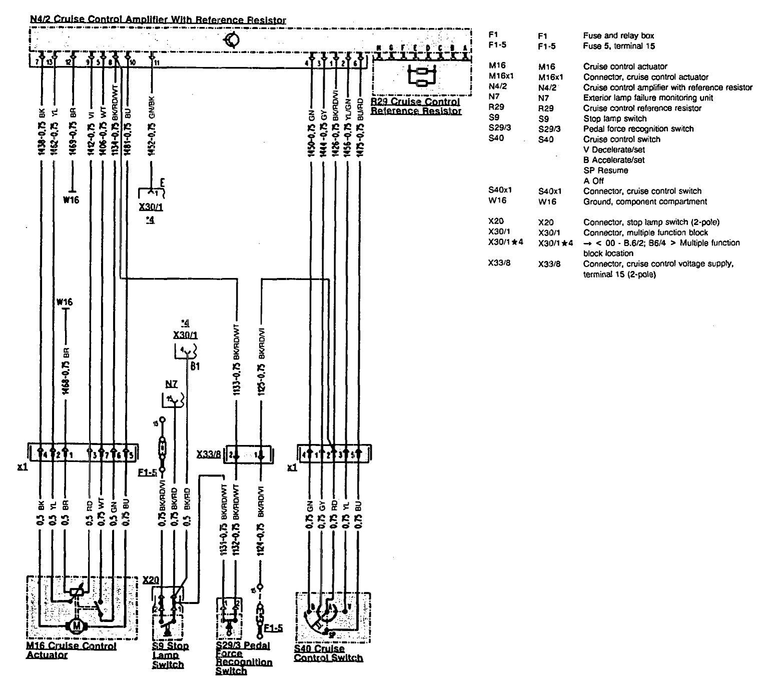 mercedes benz 500sl 1990 1993 wiring diagrams