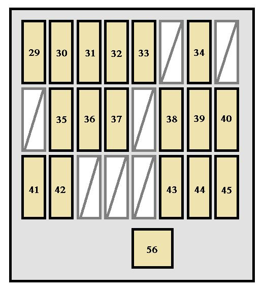 toyota 4runner 2005 2009 fuse box diagram carknowledge. Black Bedroom Furniture Sets. Home Design Ideas