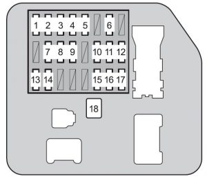 Toyota 4Runner - wiring diagram - fuse box diagram - instrument panel