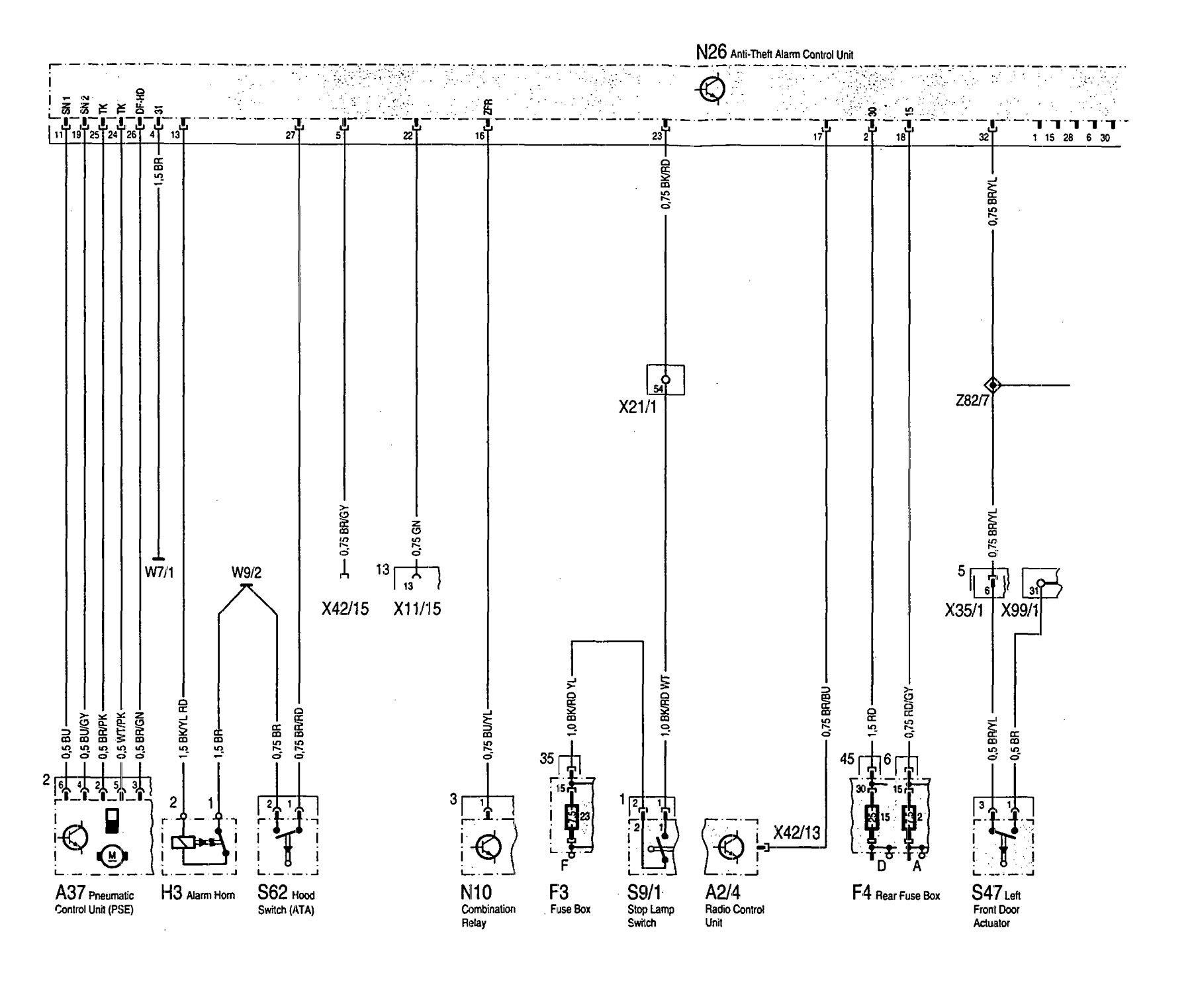 Mercedes Benz 300sd 1992 Wiring Diagrams Air Bags Carknowledge Bag Diagram
