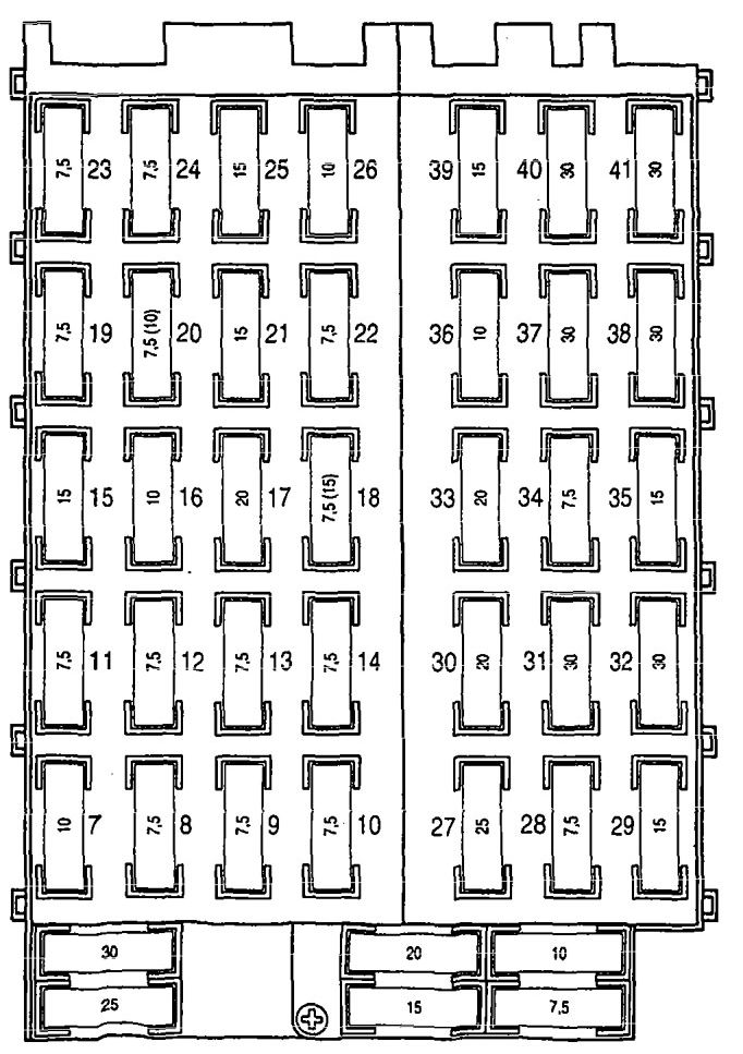 mercedes-benz 300sd  1992 - 1993  - wiring diagrams