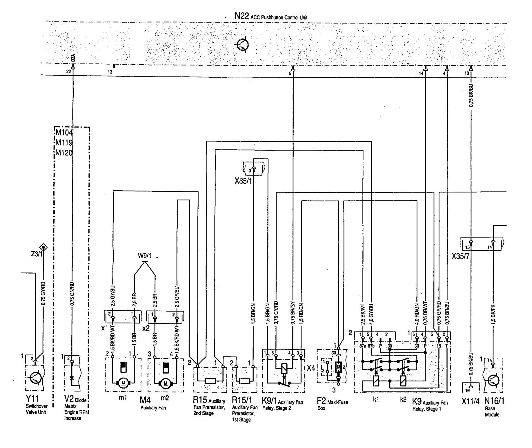 mercedes-benz 300sd (1992 - 1993) - wiring diagrams - hvac control -  carknowledge.info  carknowledge.info