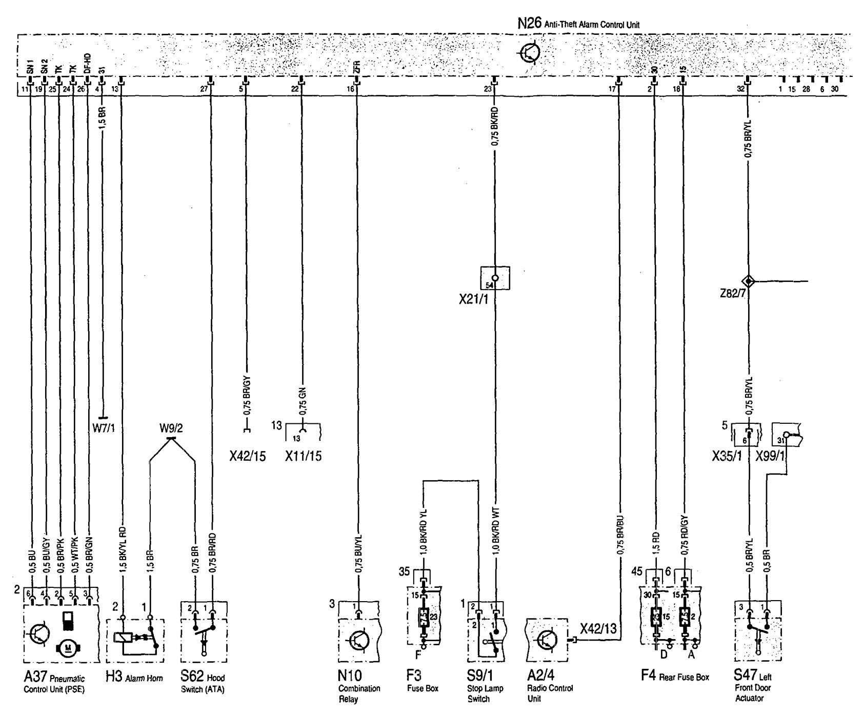 Mercedes Benz 300sd Wiring Diagram Simple Guide About 1996 300d Engine Fuse Box 1993 Diagrams Security