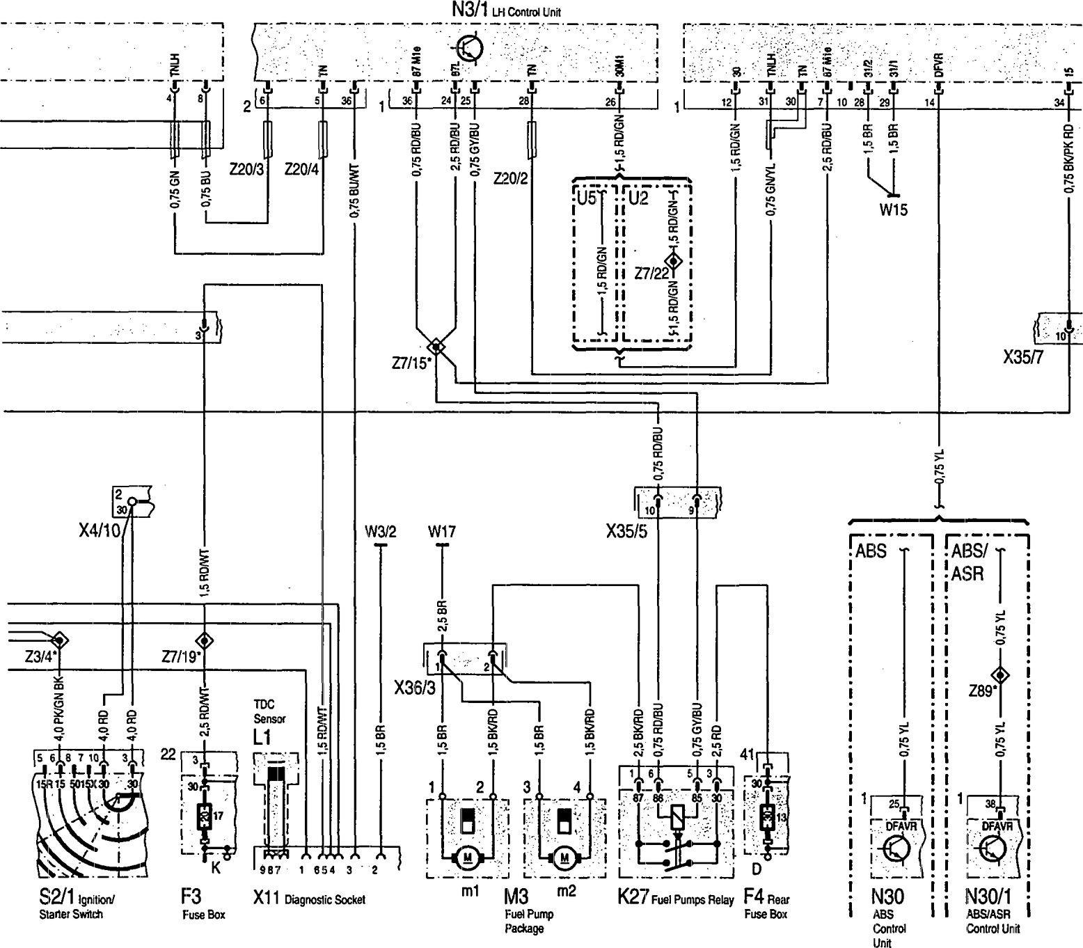 mercedes 400 wiring diagram wiring diagrammercedes benz 600sec (1993) wiring diagrams fuel controlsmercedes benz 400se wiring diagram fuel controls