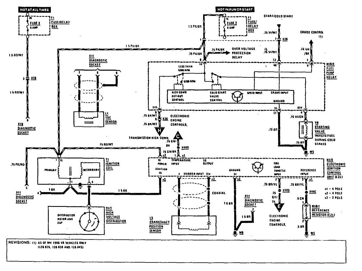 Mercedes Benz 420sel 1990 Wiring Diagrams Diagnostic Socket Obd Diagram