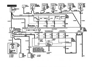 Mercedes-Benz 420SEL - wiring diagram - speed controls