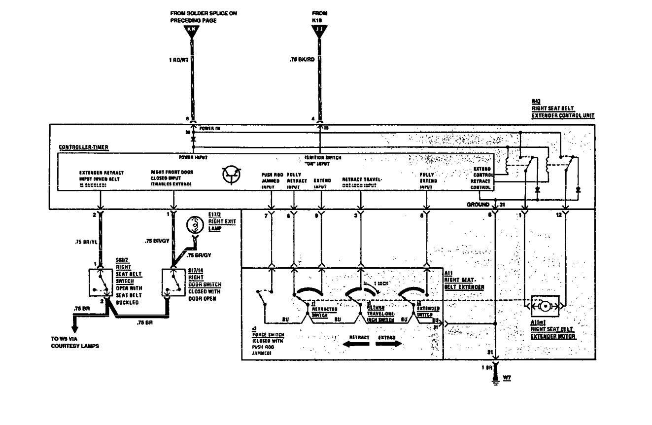 mercedes-benz 560sec  1991  - wiring diagrams