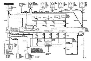 Mercedes-Benz 560SEC - wiring diagram - speed controls