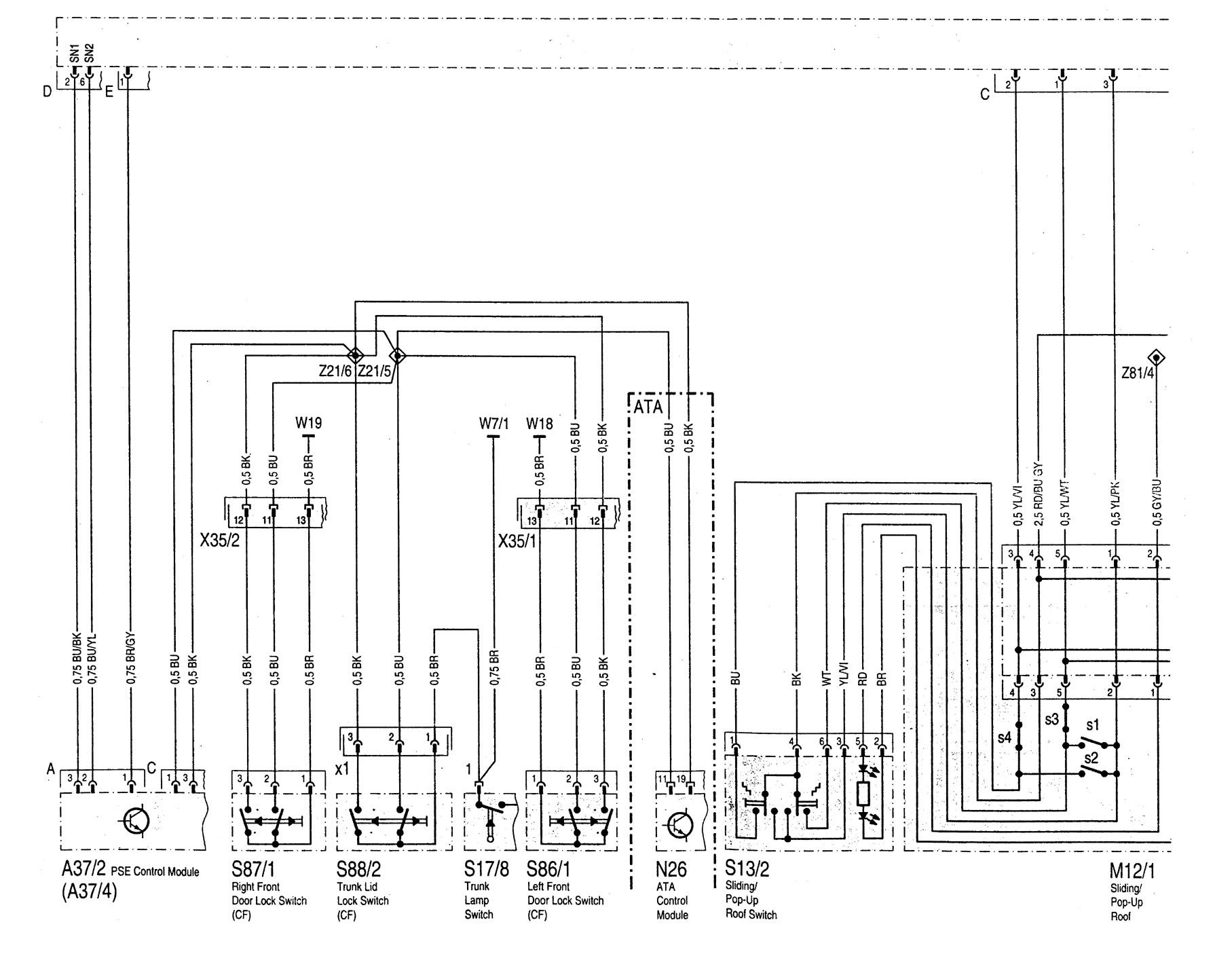 [SCHEMATICS_48IU]  Mercedes-Benz C220 (1994 - 1996) - wiring diagrams - driver infromation  center/message center - Carknowledge.info | Mercedes Benz C220 Wiring |  | Carknowledge.info