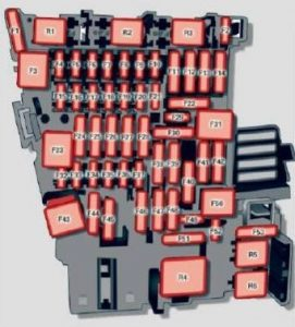 Audi A3 - wiring diagram - fuse box diagram - instrument panel