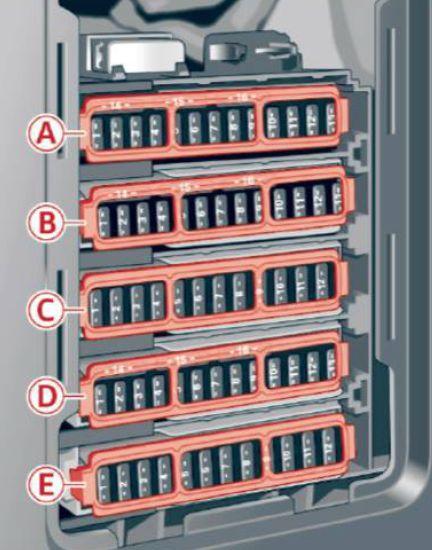 audi s4  2017   u2013 fuse box diagram carknowledge