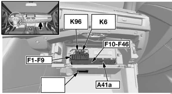 bmw 5 series e60 e61 2003 2010 fuse box diagram carknowledge rh carknowledge info BMW M5 Radio Diagram 2001 BMW 325I Wiring Diagram