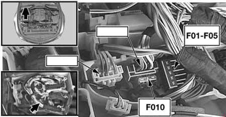 bmw e60 instrument cluster wiring diagram bmw 5 series  e60  e61   2003     2010      fuse box diagram  bmw 5 series  e60  e61   2003     2010