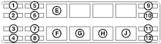 Bobcat 328  U2013 Fuse Box Diagram