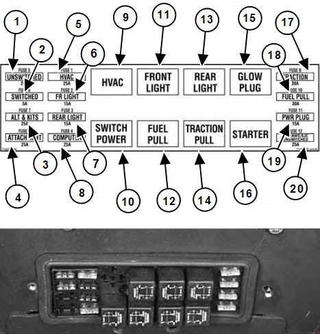 Bobcat S185 Fuse Box Diagram Carknowledge Info