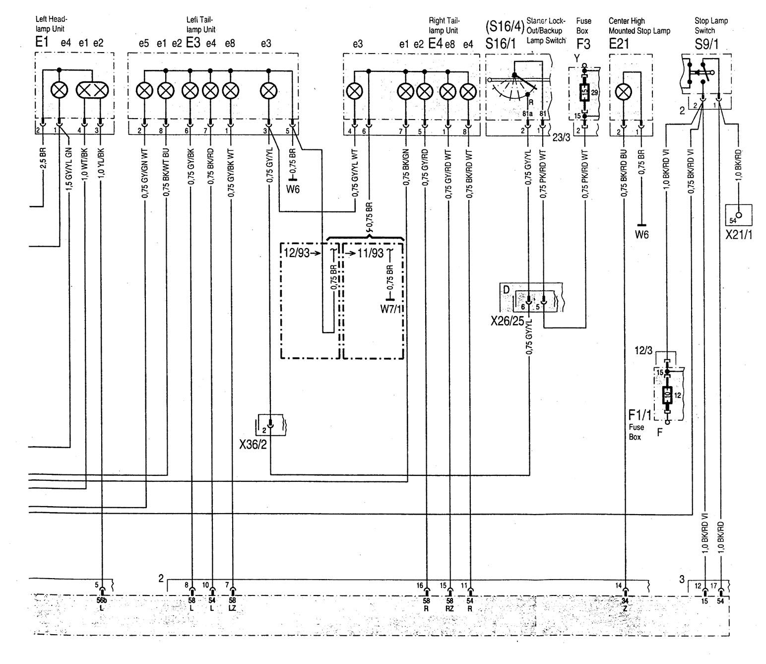 C 280 Mercedes Benz 1994 Diagram Search For Wiring Diagrams C220 C280 1997 2007 C230 Sport Amg 560sec