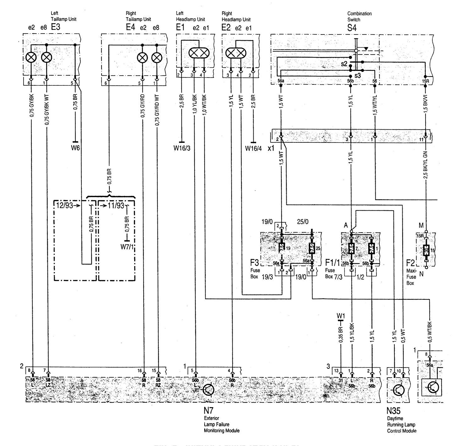Mercedes Benz 1994 Wiring Diagram Great Design Of E220 C280 1997 Diagrams Radio Harness 1990