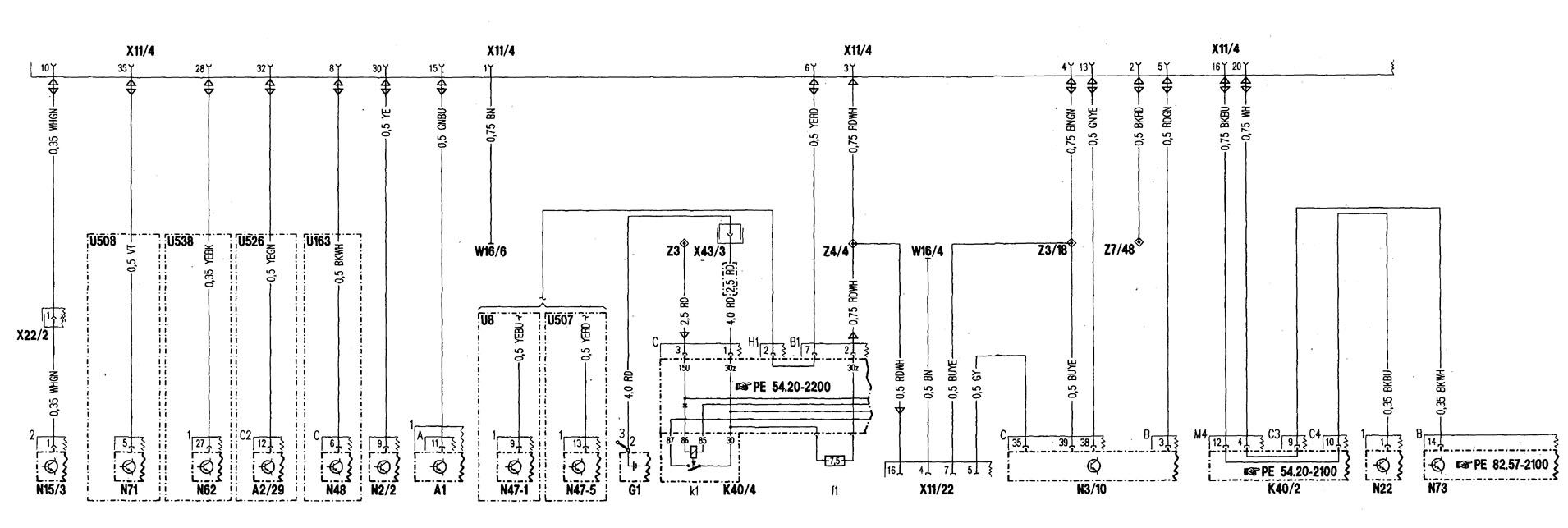 Mercedes Benz C280 1998 Wiring Diagrams Computer Data Lines Engine Diagram