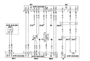Mercedes-Benz C280 - wiring diagram - drive authorization system