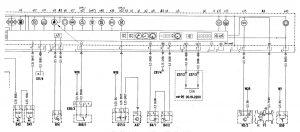 Mercedes-Benz C280 - wiring diagram - instrumentation (part 2)