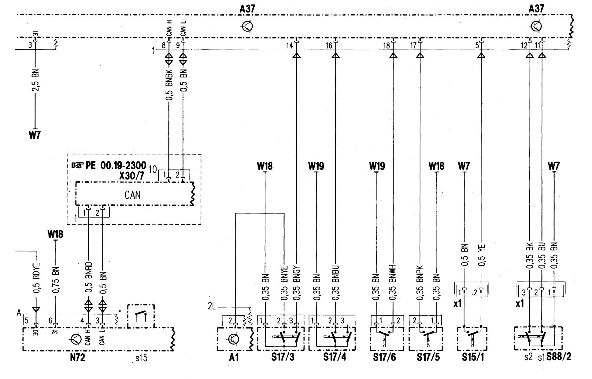 Mercedes-benz C280  1998  - Wiring Diagrams
