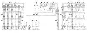 Mercedes-Benz C280 - wiring diagram - power seats