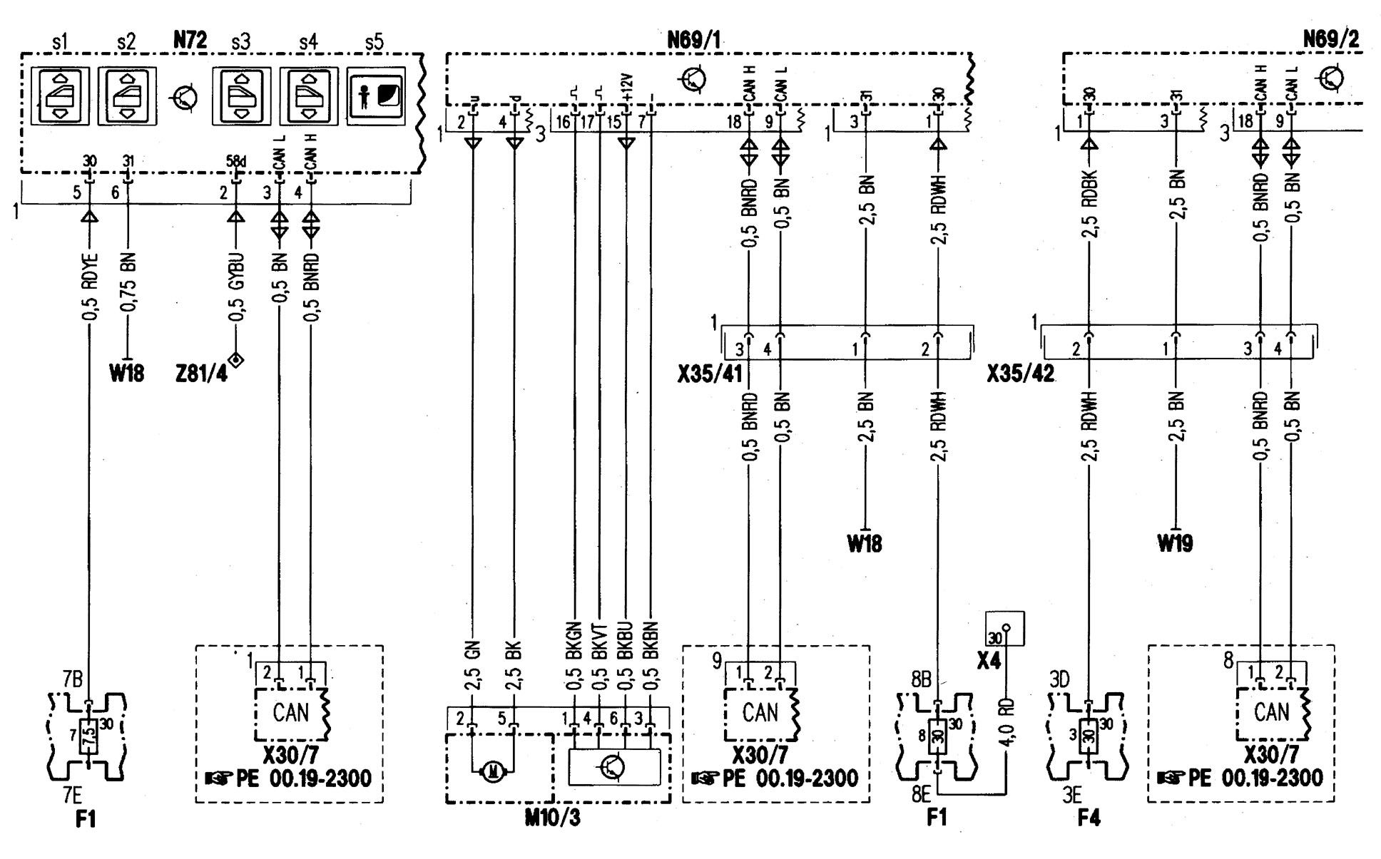 Mercedes Benz C280 1998 Wiring Diagrams Power Windows Volvo 240 Ke Light Diagram Part 1