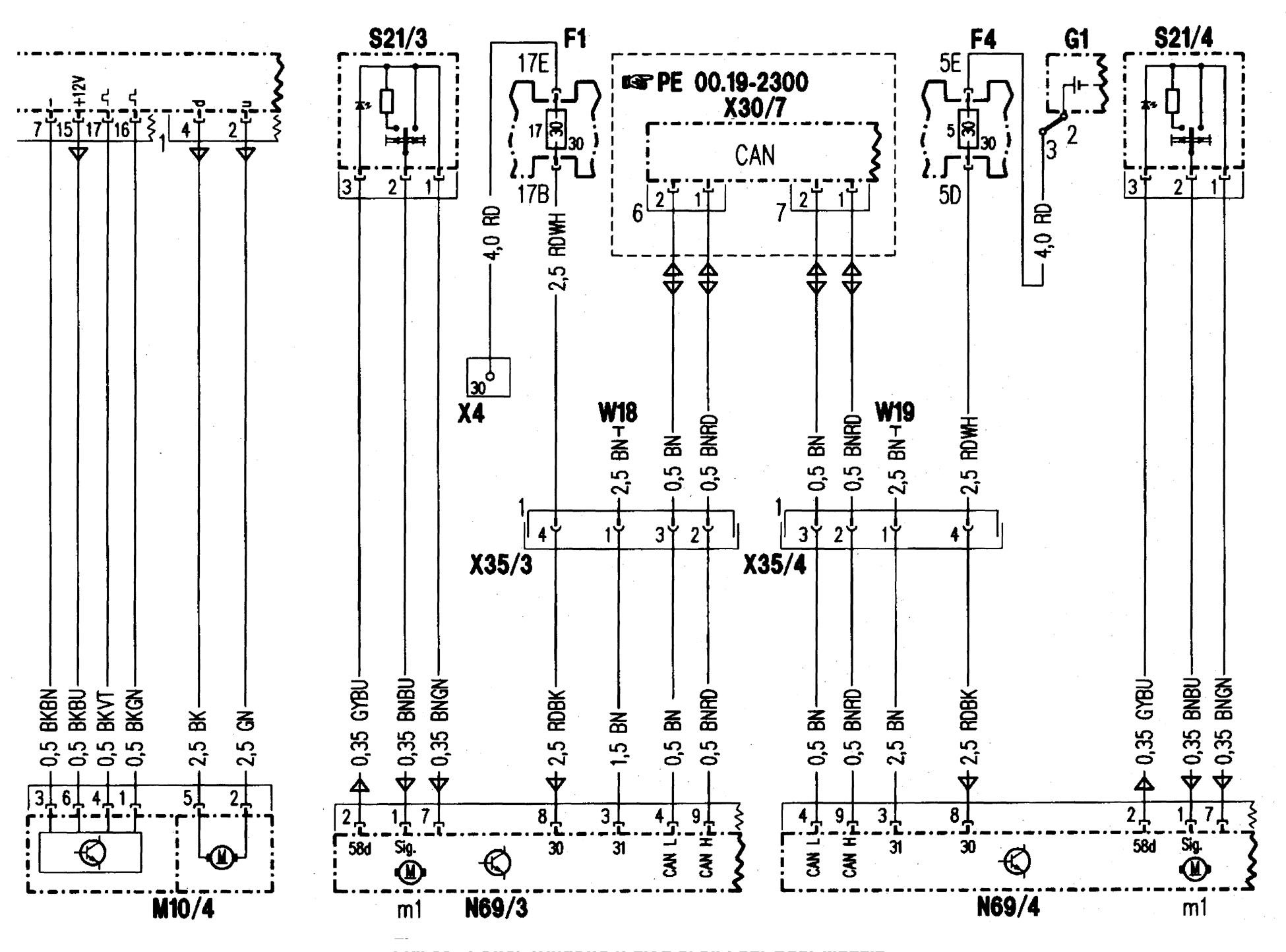 Mercedes Benz C280 1998 Wiring Diagrams Power Windows Engine Diagram Part 2