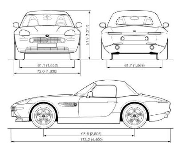 Bmw Z8 E52  U2013 Vehicle Specification
