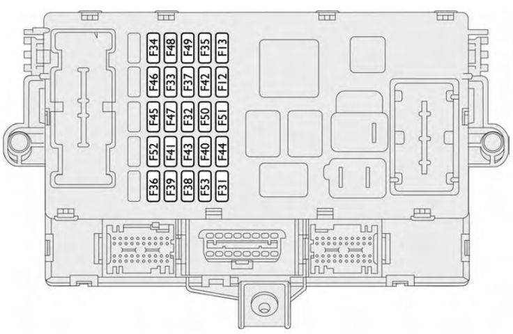 Fiat Croma (2007 – 2009) – fuse box diagram - Carknowledge.infoCarknowledge.info