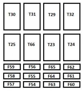 Fiat Ducato - wiring  diagram - fuse box diagram - passenger compartment optional box