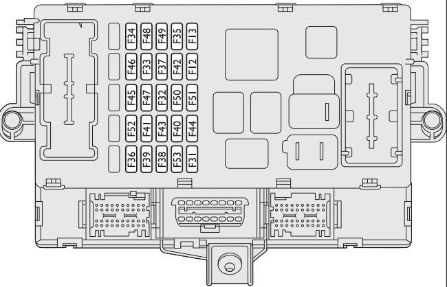 Fiat Bravo  2008  U2013 2014   U2013 Fuse Box Diagram