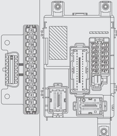fiat doblo combi  cargo  from 2009   u2013 fuse box diagram