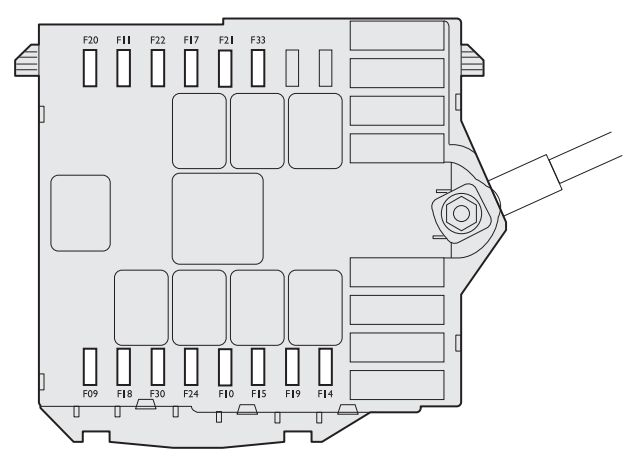 fiat linea 2007 2013 fuse box diagram carknowledge. Black Bedroom Furniture Sets. Home Design Ideas