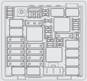 Fiat    Punto     199   from 2012      fuse box    diagram     CARKNOWLEDGE