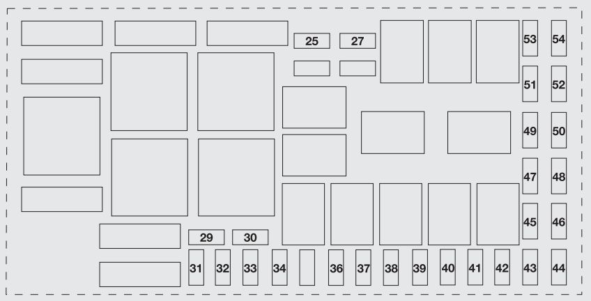 Fiat Punto Evo  2010  U2013 2012   U2013 Fuse Box Diagram