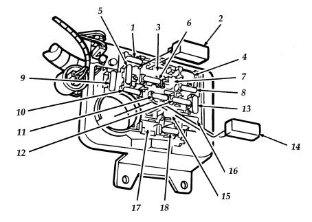 Ford Aerostar Second Generation (1991 - 1997) - fuse box ...