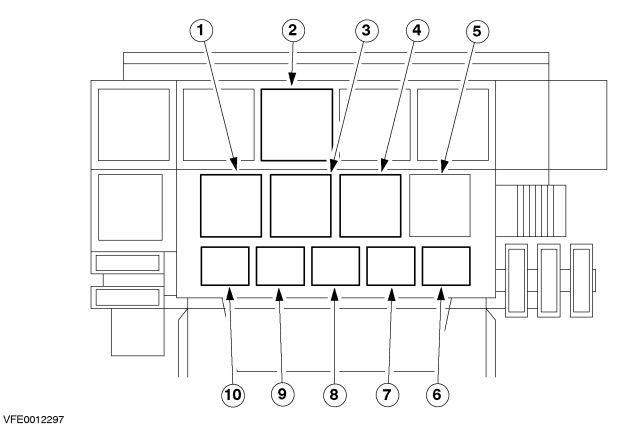Ford Bantam  2002  U2013 2011   U2013 Fuse Box Diagram