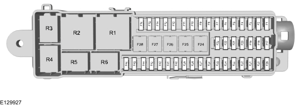 ford c max fuse box diagram vehicles built up to 22 06. Black Bedroom Furniture Sets. Home Design Ideas
