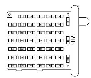 2007 ford e150 fuse box under hood data wiring diagrams u2022 rh mikeadkinsguitar com 2007 ford e150 fuse diagram 2007 ford e150 fuse box diagram