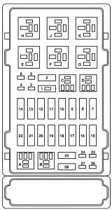 Ford E-Series E-150 E150 E 150 (2007) – fuse box diagram - Carknowledge.infoCarknowledge.info