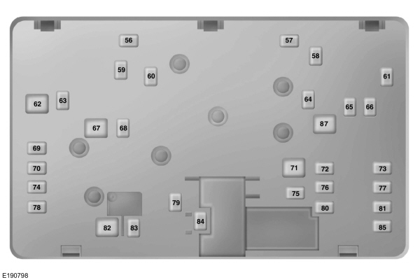 ford edge from 2015 fuse box diagram usa version. Black Bedroom Furniture Sets. Home Design Ideas