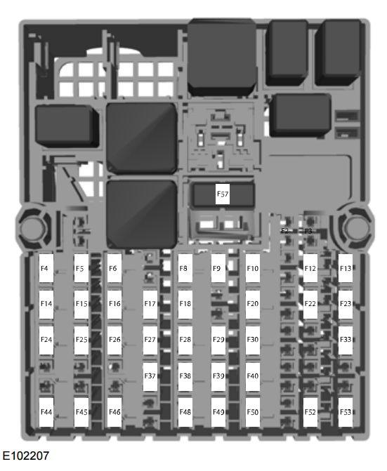Ford Fiesta Classic  From 2010   U2013 Fuse Box Diagram  India